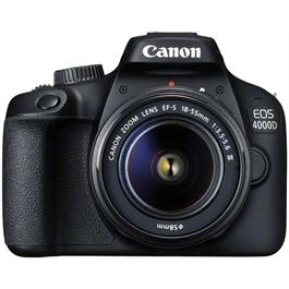 Canon EOS 4000D DSLR Body With EF-S 18-55mm III Lens Kit Thumbnail Image 7